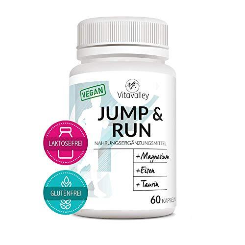 Premium Aminosäuren-Komplex mit 6 Mineralien & wichtige Vitamine für Sportler - Vegan -Elektrolyte für Läufer - 60 Kapseln - für mehr Leistung & Regeneration