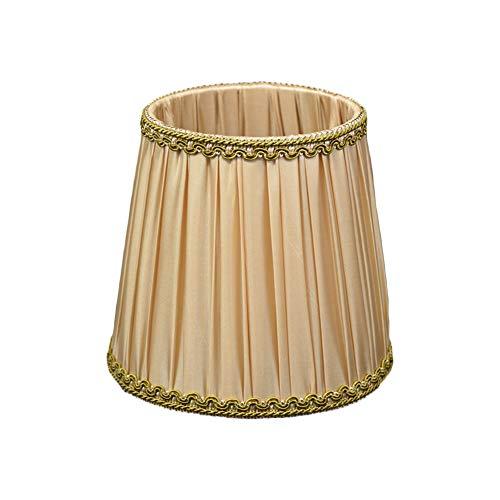 ZZZM Wandlampenschirme Stoff, Kronleuchter Stoffüberzug Lampenschirm europäischer Stil Pendelleuchte Kerzenschirm für Kerzen,...