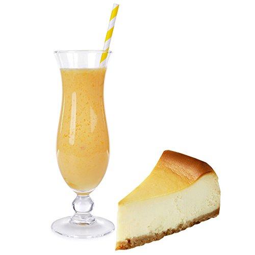Cheesecake Molkepulver 1Luxofit mit L-Carnitin Protein angereichert Aspartamfreier Wellnessdrink (1 kg)