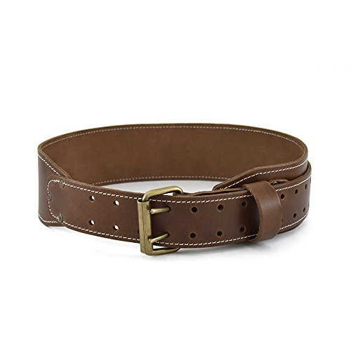 "Style n Craft 98439 3"" Wide Extra Long Tapered Work Belt in Top Grain Leather"