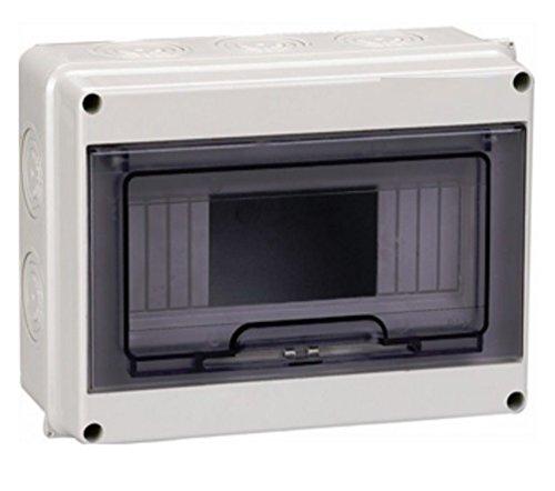 kleinverteiler Sicherungskasten Feuchtraum IP65 Verteilerkasten Unterverteilung MKV-HT 1/8