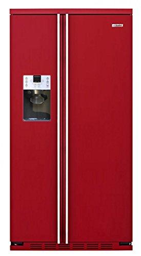 iomabe ORG S2 DFF 6R Integrado/Independiente 549L A+ Rojo, Acero inoxidable nevera puerta lado a lado - Frigorífico side-by-side (Integrado/Independiente, Rojo, Acero inoxidable, Puerta americana, LED, Puerta a puerta, Vidrio)
