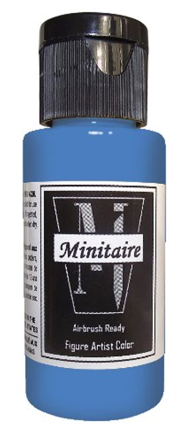 Badger Air-Brush Company 2-Ounce Bottle Miniature Airbrush Ready Water Based Acrylic Paint, Werewolf Grey