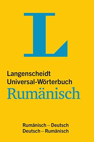 Langenscheidt Universal-Wörterbuch Rumänisch - mit Tipps für die Reise: Rumänisch-Deutsch/Deutsch-Rumänisch