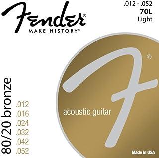 Fener 70L 80/20 Bronze Acoustic Guitar Strings - 12-52