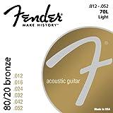 Fender 70L 0730070403 80/20 Bronze Ball End...