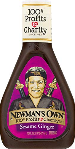 Newman's Own Sesame Ginger Salad Dressing, 16 oz