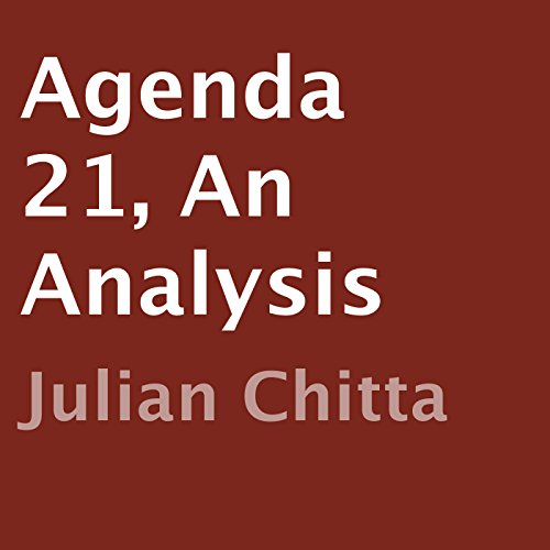 Agenda 21, an Analysis audiobook cover art