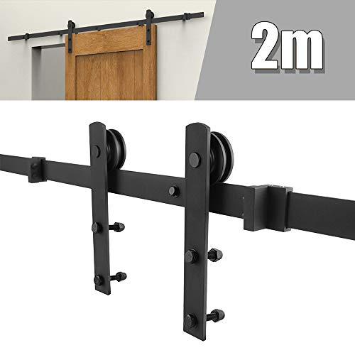Sistema de puertas correderas, kit puerta corredera sistema de puerta para puertas correderas conjunto industrial puerta