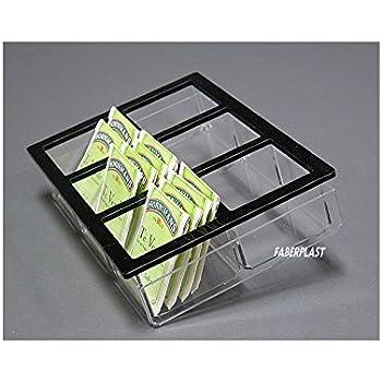 Faberplast Caja Infusiones, Metacrilato, 21x14.5x4.5 cm: Amazon.es ...