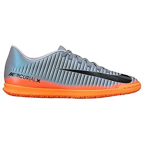 Nike Mercurialx Vortex III CR7 IC Scarpe da calcetto, da uomo, UOMO, grigio