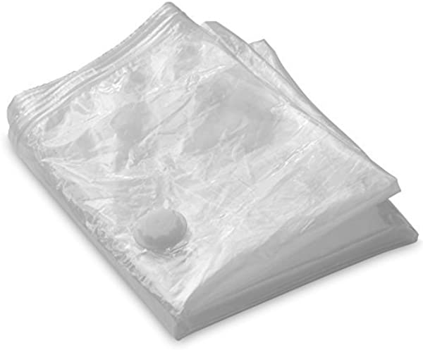 LifeSmart Vacuum Bag For Memory Foam Ventilated Mattress Toppers And Pads Tri Fold Twin 59 X 51