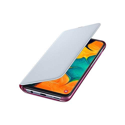 Capa Protetora Flip Wallet Branca Galaxy A30 Original Samsung