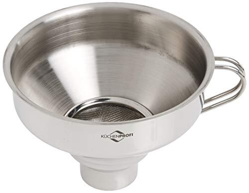 Küchenprofi 18/10 Stainless Steel Funnel with Filter