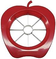 Schnell und sauber: Der Apfelteiler schneidet 8 gleichmäßige Apfelstücke und entkernt gleichzeitig den Apfelstrunk Anwendung: Einfach den Apfelteiler vorsichtig an der Frucht herunterdrücken und danach den Strunk und die abgeschnittenen Kerne herausn...