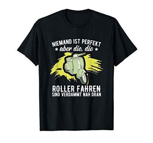 Scooter I Moped I Motor-Roller Motiv-Sprüche T-Shirt