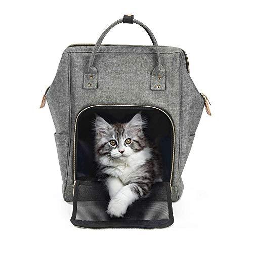 WXQY Streicheln Sie Heraus Tragbaren Rucksack, Katzen-Träger-Rucksack-Welpen-Reise-Taschen-Tragbare Faltende Haustier-Kaninchen-Mode-Handtasche