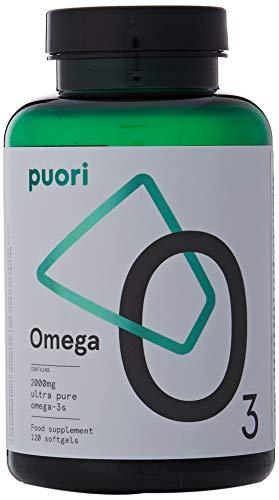 O3 Pure Omega 3 Burpless Fish Oil Softgels + Lemon   2000mg EPA 1250mg DHA 500mg, Supplements Natural Capsules   Aceite de Pescado