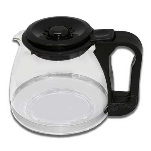 BAR Jarra para cafetera Universal Adaptable - Altura 12-14cm