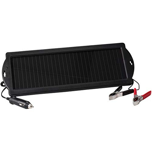 NIPPON Solar Powered 12Volt Trickle Charger, Black, TPS946