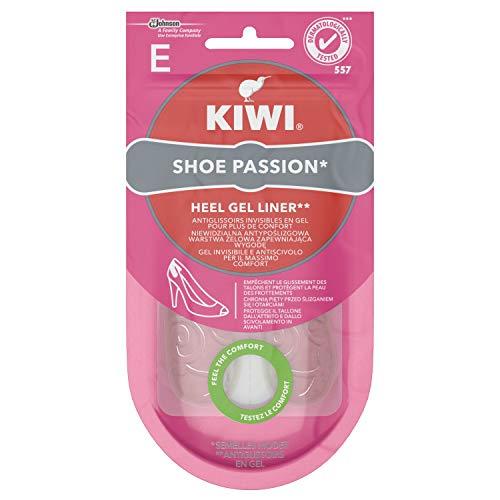 Kiwi Shoe Passion Retro Tallone Solette Donna in Gel Invisibile e Antiscivolo per Tacchi, Cuscinetto Ammortizzante, 1 Paio
