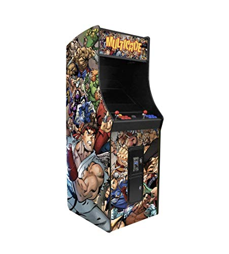 2 Player Upright Arcade Machine with 3,016 Games in 1 22' Monitor with Trackball