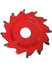 Sunasq tarcza do piły tarczowej, ze stopu aluminium, tarcza do piły tarczowej z 12 zębami, płytka do piły tarczowej w kształcie litery V do cięcia drewna