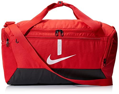 Nike Academy Team-Sp21 Sacs de sport Mixte, Rouge Université/Noir/Blanc, Taille unique