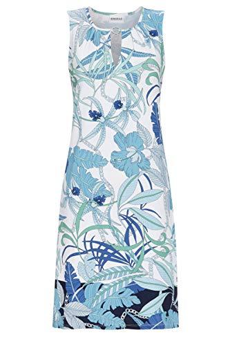 Ringella Beach Damen Kleid mit Floraldessin türkis 46 1221036, türkis, 46