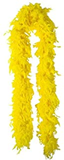 Amscan Party Centre Feather Boa - Yellow