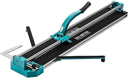 XBR Máquina Profesional de Azulejos, cortadora Manual de Azulejos Cortadora de Azulejos Profesional de 1000 mm Cortadora de Azulejos de cerámica con guía láser Ajustable para Corte de precisión