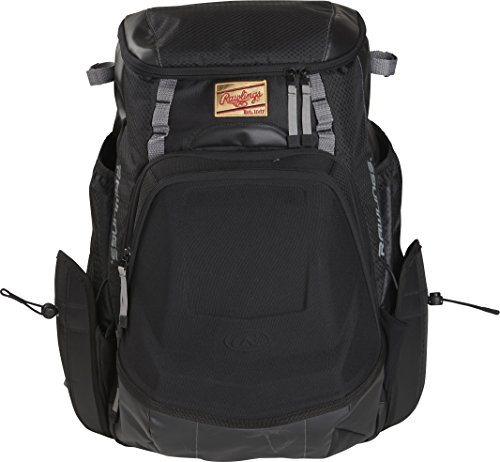 Rawlings R1000 Gold Glove Series Equipment Bag, Black with Gray