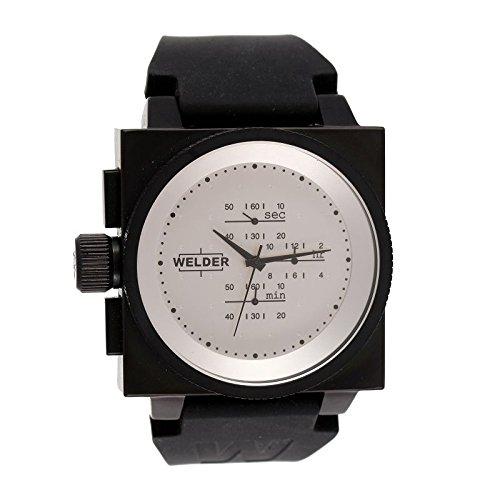 Cofanetto orologio Welder Uomo K-26modello Cronografo nera e...