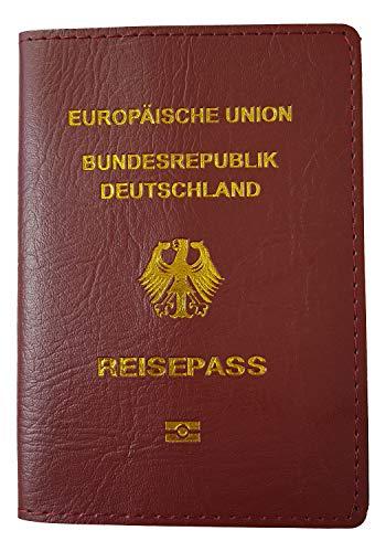 Schutzhülle für Reisepass Kunstleder von Einkaufszauber