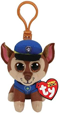 T Y Ty Paw Patrol CHASE Shepard dog clip product image