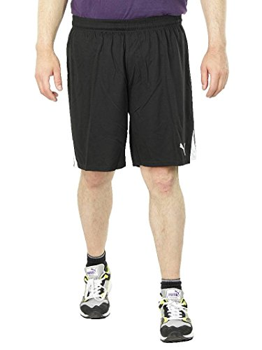 PUMA KC Team Ticino Short Fußball Traingsshorts Herren Sporthose schwarz, Bekleidungsgröße:S
