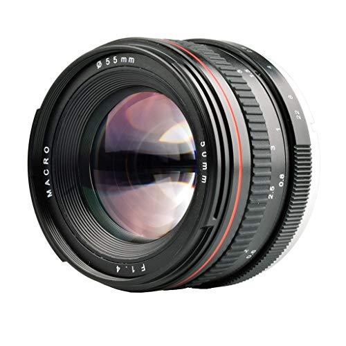 Für Canon SLR Digitalkamera Porträt-Objektiv, 50mm F1.4 Manueller Fixfokus Objektiv,...