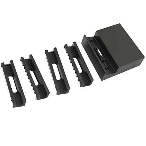P Prettyia Cargador de Base Magnético de Metal para Xperia Z1 Z2 Z3 Compact Charging Dock