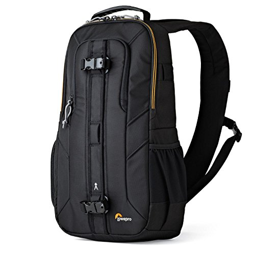 Lowepro LP36899PWW Slingshot Edge 250 AW - A Secure, Slim, Smart and Protective Sling for a Compact DSLR or DJI Mavic Pro/Mavic Pro Platinum,Black,9.06 x 4.72 x 8.27 in