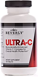Beverly International Ultra-C, 100 Sustained-Release Tablets. Fight Cold Bugs and Stress with The Stronger-for-Longer Vitamin C Preparation