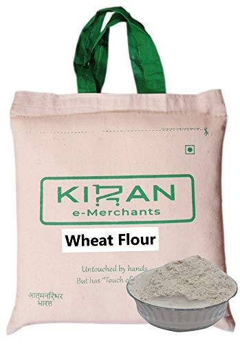 Kiran's Whole Wheat Flour, Eco-friendly pack, 5 lb (2.27 KG)