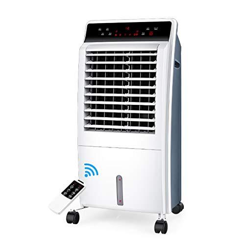 XPfj Refrigeratore Portatile Freddo/Caldo Climatizzatore Portatile Senza Tubo,Cool Air unità Esterna Mini Ventilatori per Condizionatori Refrigeratore Condizionatore Bianco Ventilatore Argo