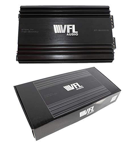 Class D Monoblock Amplifier Stealth Max 3000 Watts Pro Car Audio VFL ST-3000.1D