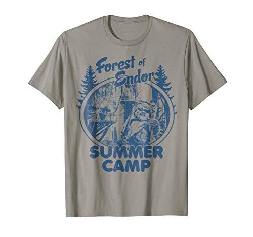 Star Wars Wicket Ewoks Endor Forest Summer Camp T-Shirt T-Shirt