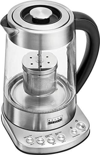 Bella - Pro Series 1.7L Electric Tea Maker/Kettle - Stainless Steel