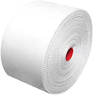 YIKAI Fiberglass Cloth Tape, Glass Fiber Mesh Joint Tape Plain Weave Reinforcement E-Glass Size 4