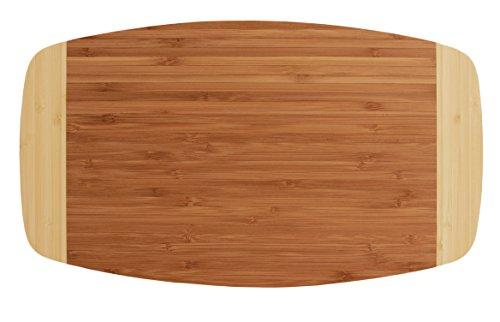 Totally Bamboo BA201156 Planche A DECOUPER Bicolore Fine 37 X 21 CM, Bambou