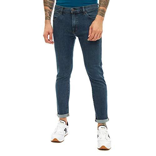 Wrangler Larston Jeans, Blu Clean Green, 27W / 32L Uomo