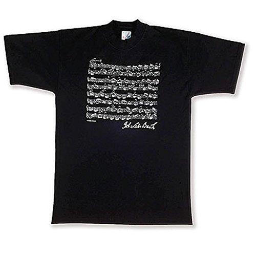 T-Shirt Bach black M - GIFT