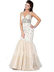 Mother of the Bride Sexy Long Pageant Dress
